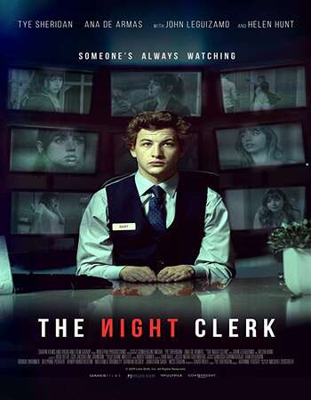 The Night Clerk 2020 English 280MB Web-DL 480p ESubs