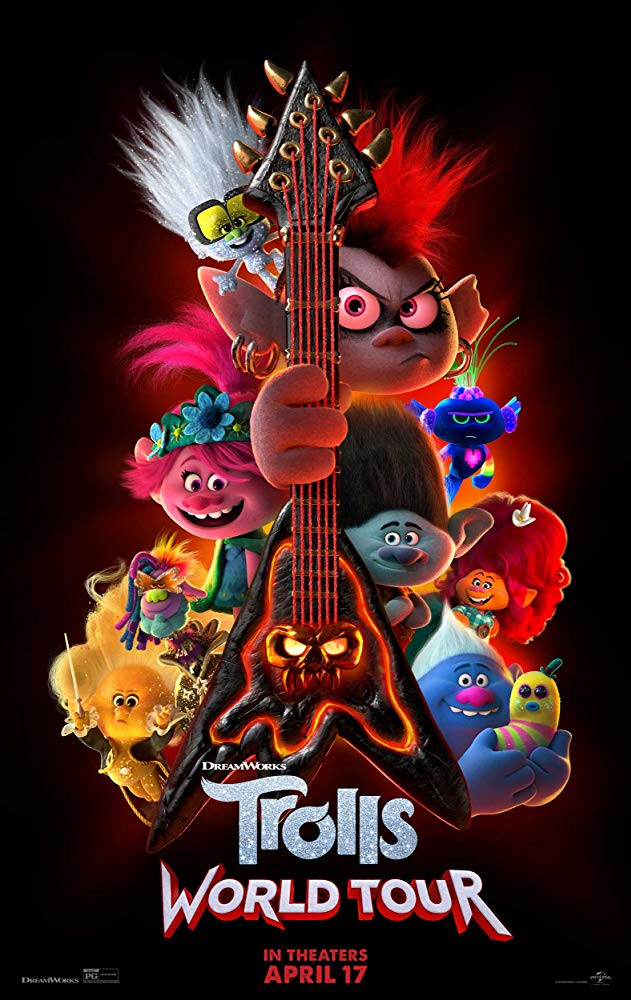 Trolls World Tour 2020 English 300MB HDCAMRip