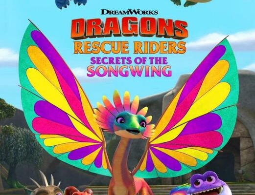 Dragons Rescue Riders Secrets of the Songwing (2020)