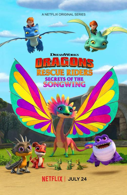 Dragons Rescue Riders Secrets of the Songwing (2020) English 150MB WEB-DL 480p